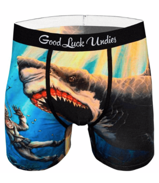 Good Luck Sock Good Luck, Men's Shark Attack Undies