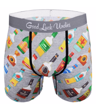 Good Luck Sock Good Luck, Men's Liquor Bottles Undies