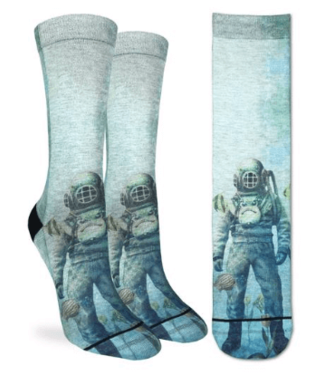 Good Luck Sock Good Luck Socks, Women's Scuba Diver Socks - Shoe Size 5-9