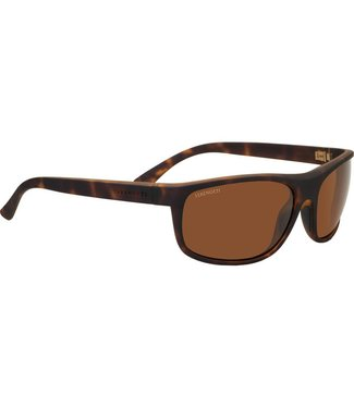 Serengeti Serengeti, Alessio Soft Feel Dark Tortoise Polarized Drivers Sunglasses, 8674