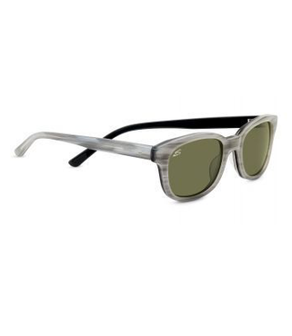 Serengeti Serengeti, Serena Sunglasses, Cream/Black, Polar, 555 NM 6