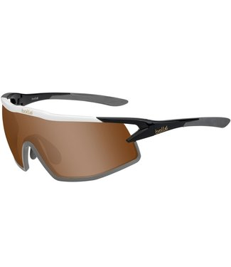 Bolle Bolle, B-Rock Black Brown Gold Sunglasses, 12520