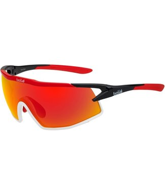 Bolle Bolle, B-Rock Black Phantom Brown Red Sunglasses, 12518