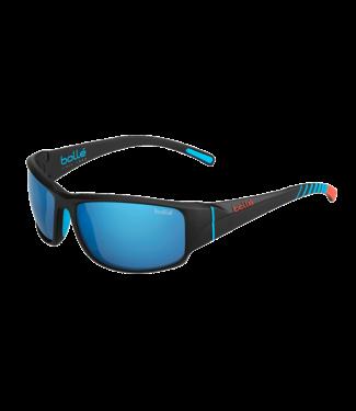 Bolle Bolle, Keelback Black Bahamas/Polarized Offshore Blue Oleo AR Sunglasses, 12344