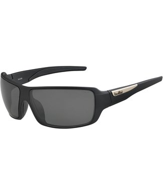 Bolle Bolle, Cary Black Polarized TNS oleo AF 8 Base Sunglasses, 12220