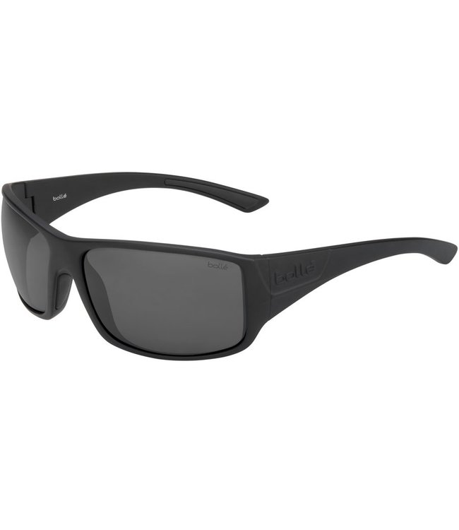 Bolle Bolle, Tigersnake Black Polarized TNS Sunglasses, 12600