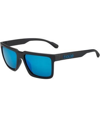 Bolle Bolle, Frank Black Polarized Offshore Blue Sunglasses, 12546