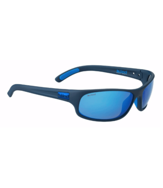 Bolle Bolle, Anaconda Mono Blue Polarized Offshore Blue oleo AR Sunglasses, 12446