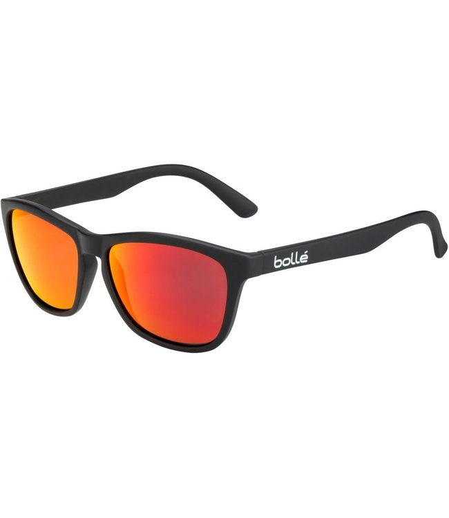 Bolle Bolle, 473 Black Brown Fire Sunglasses, 12487