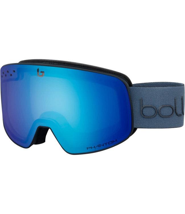 Bolle Bolle, Nevada Goggle Matte Black Diagonal Phantom Plus