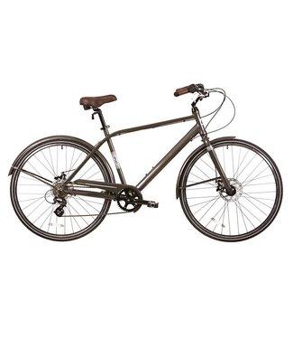 """EVO EVO, Granville City Bicycle, Stealth Gray, 18"""""""