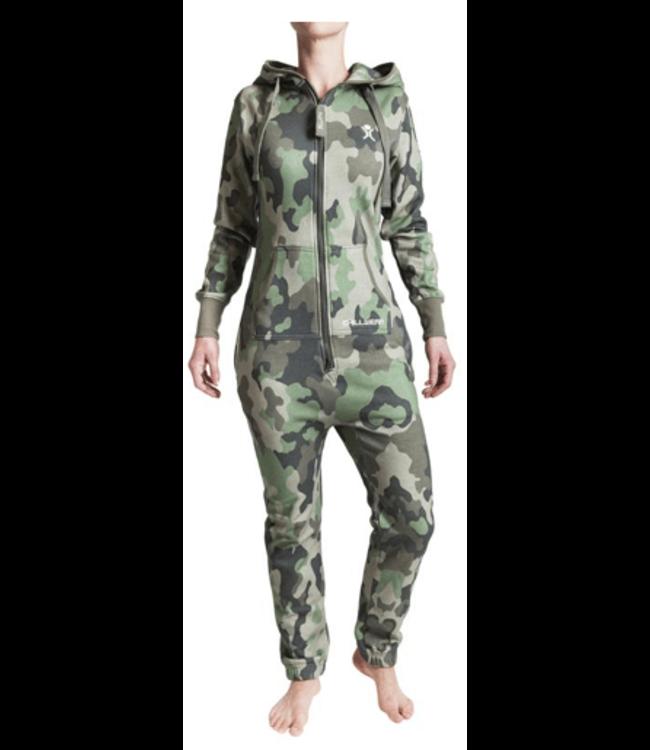 Unichill Uni, Chillwear Jumpsuit Camo Green