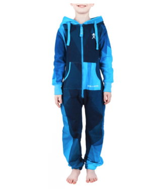 Unichill Uni, Chillwear Jumpsuit Geo Blue Kids