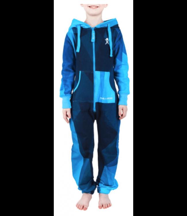 Unichill Uni, Chillwear Jumpsuit Geo Blue Kids
