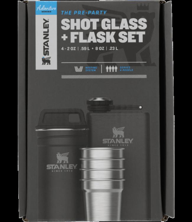 Stanley STANLEY, ADVENTURE GIFT BOX SHOT GLASS & FLASK SET