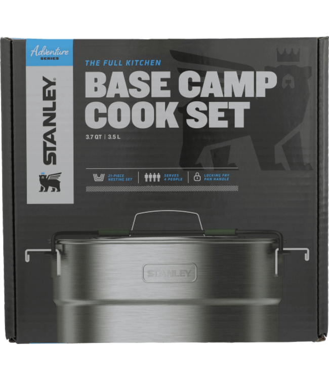 Stanley STANLEY ADVENTURE 3.7QT BASECAMP CAMP COOK SET SS