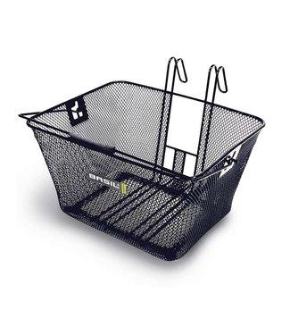 Basil, Bern Mesh, Front basket, Black