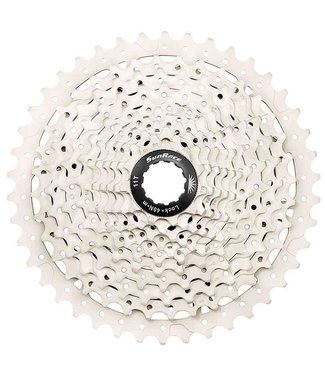Sun Race, CSMS8-11, Cassette, 11 sp., 11-40T, For Shimano/SRAM, Metallic Silver