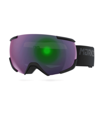 Marker Marker, 16:10+ Goggle, Black/Green Plasma Mirror