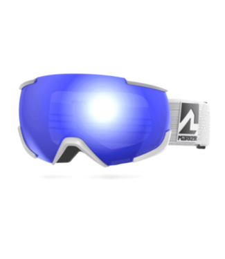 Marker Marker, 16:10+ Goggle, White/Blue HD Mirror