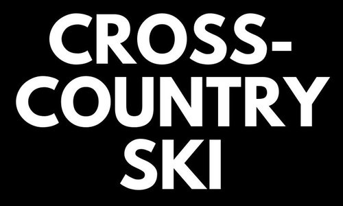 Cross-country Skis  - Black Friday