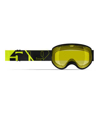 509 509, Ripper Youth Goggle, Black Hi-Vis, Youth