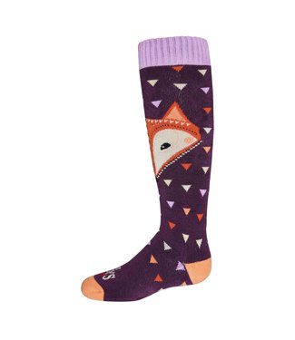 Hot Chillys Hot Chillys, Youth Little Fox Mid Volume Sock