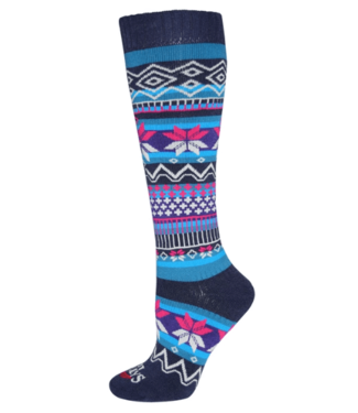 Hot Chillys Hot Chillys Ws Prima Mid Volume Sock, Navy S