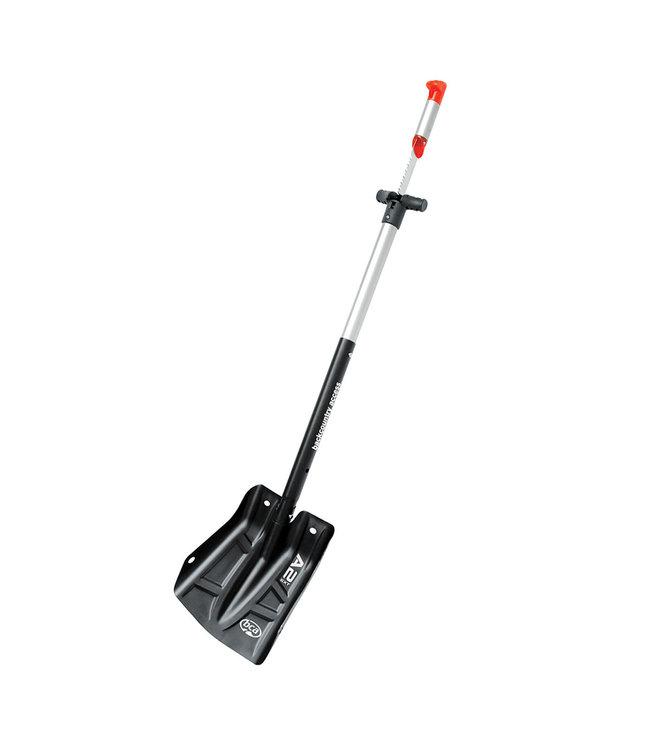 BCA BCA, A2EXT Arsenal 29cm Shovel with Saw, Black