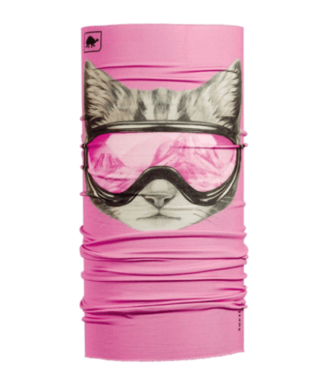 Turtlefur Turtlefur, Kids Comfort Shell: Totally Tubular, Cool Kitty, S/ Pink