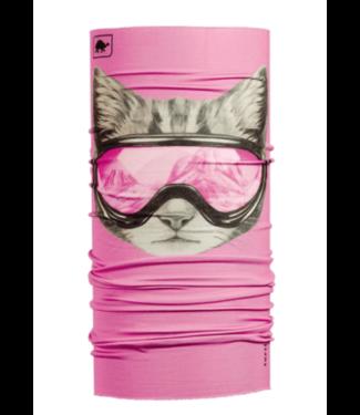 Turtlefur Turtlefur, Kids Comfort Shell: Totally Tubular, Cool Kitty, S/ Pink