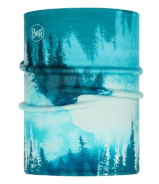 Buff Buff, Reversible Polar Neckwarmer Jr, Lake Blue, Turquoise