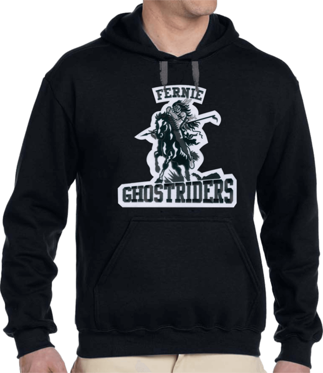 Ghostriders, Hoodie Embroided Crest
