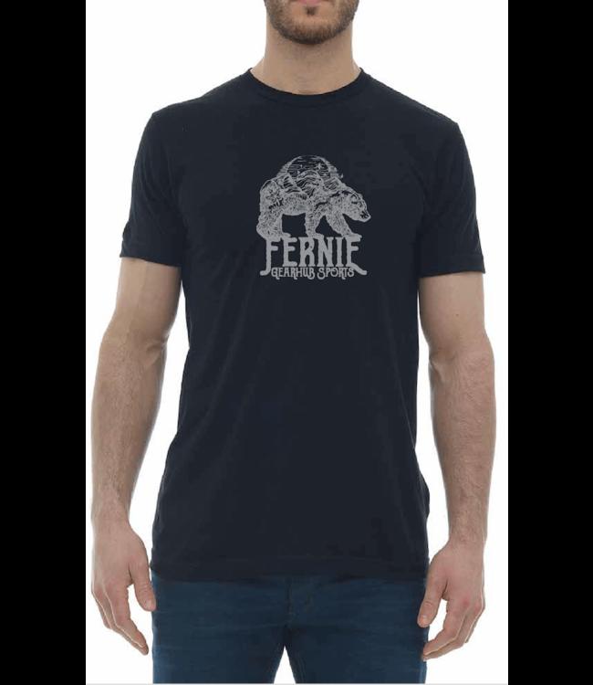 Gearhub GearHub, S/S Shirt, Griz Bear Logo