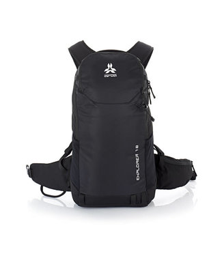Arva Arva, Explorer 18L Backpack, Black