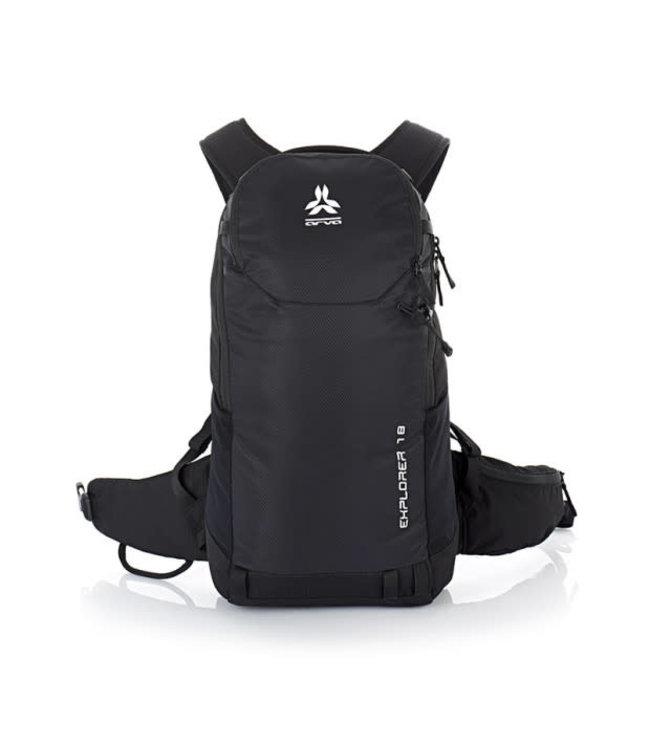 Arva Arva, Explorer 18L Backpack, Black