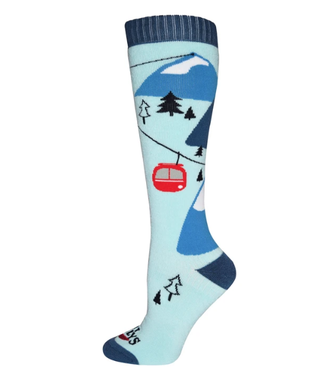 Hot Chillys Hot Chillys, W's Gondola Mid Volume Sock