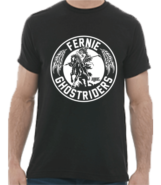 Ghostriders, T-Shirt, Black