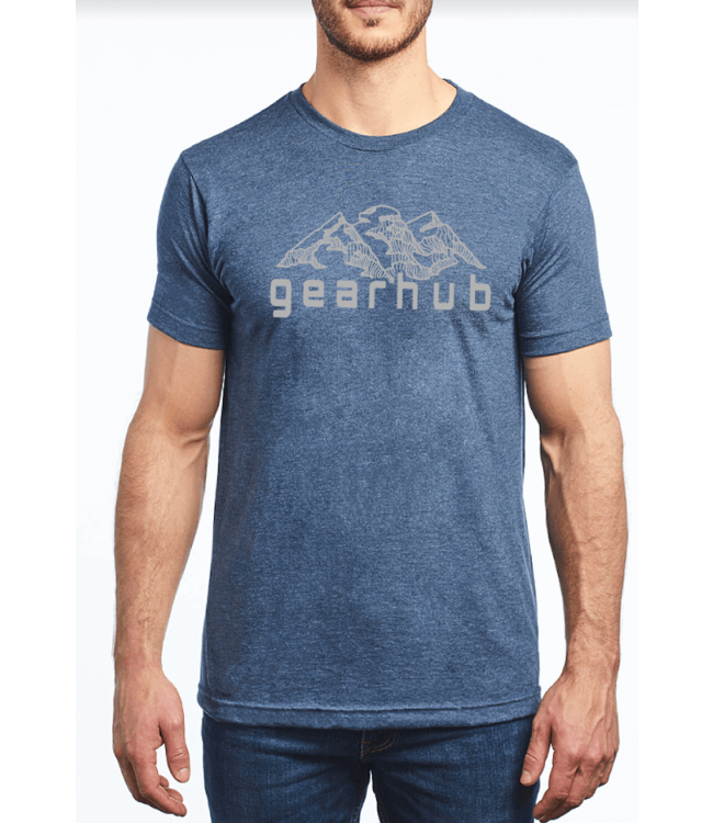 Gearhub GearHub, S/S Shirt, Mountain Logo