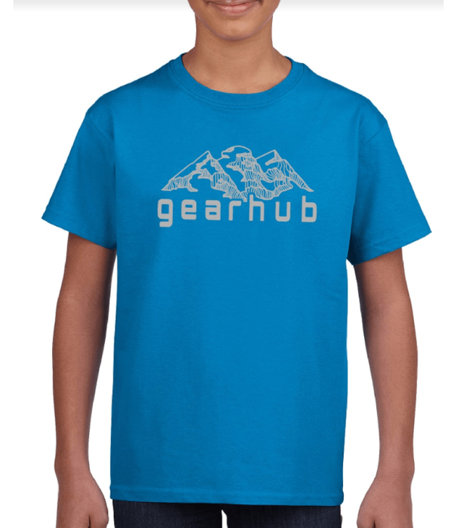 Gearhub GearHub, Youth S/S Shirt, Mountain Logo