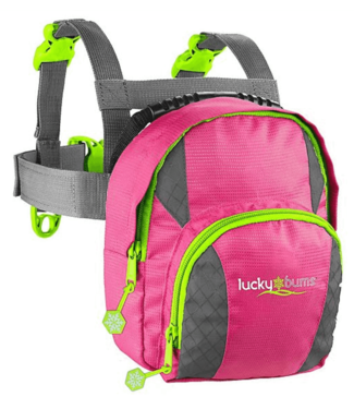 Lucky Bums Lucky Bums Fall Line Ski Trainer Pink