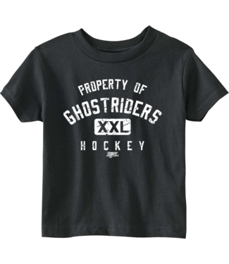 Ghostriders, Youth T-Shirt, Property Of, Black, 4