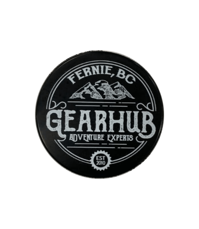 Gearhub GearHub, Hockey Puck, Black/White