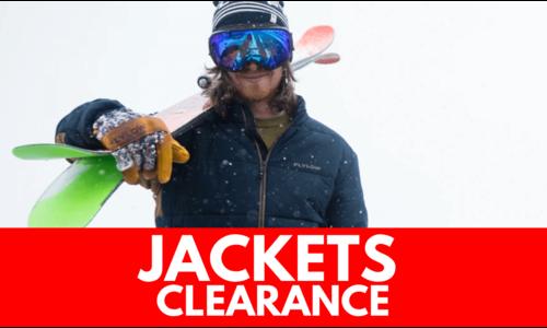Jackets - CLEARANCE