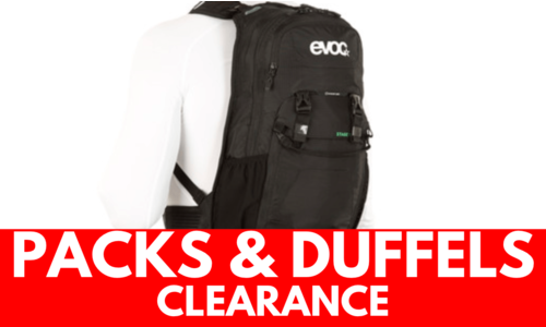Backpacks & Duffels - CLEARANCE