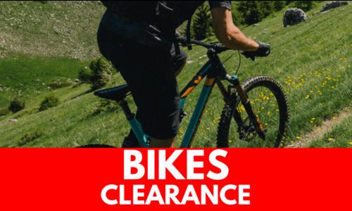 Bikes - CLEARANCE
