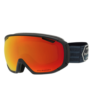 Bolle Bolle, Tsar Goggle, Matte Black Patch/Phantom Fire Red
