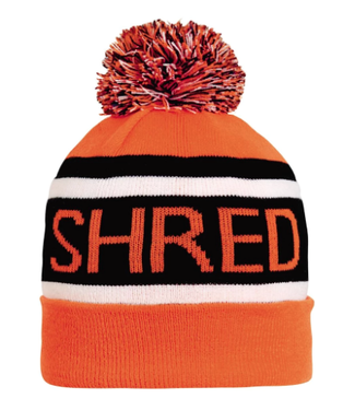 Turtlefur Turtlefur, Freebird Pom Beanie, Shred