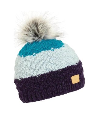Turtlefur Turtlefur, Nepal: Dhanvi Pom Beanie, Navy