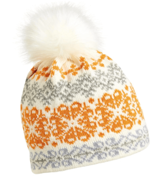 Turtlefur Turtlefur, Wool: Banff Pom Beanie, White